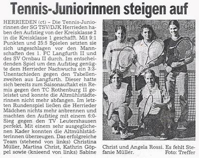 Juniorinnen2000